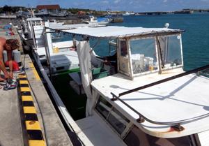 久米島 ボート