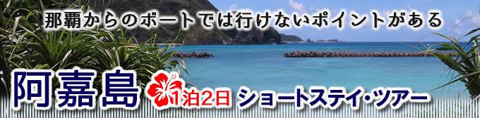 沖縄の阿嘉島ダイビング・ツアー