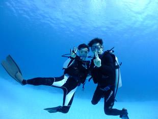 潜水時間が長い
